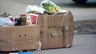 Анонс: красноярцы жалуются на стихийный рынок в районе ГорДК