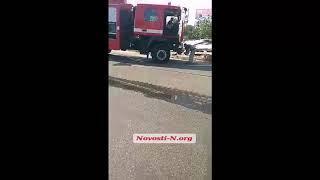 ДТП в Первомайске: фура сбила пешехода и врезалась в жилой дом