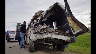 Жуткая авария в России: 13 погибших, куча раненых