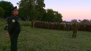 Для бойцов пензенского лагеря «Гвардеец» начались военно-полевые сборы