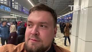 Эвакуация в аэропорту Красноярска