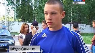 Кировские школьники познакомились с работой Росгвардии (ГТРК Вятка)