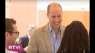 С какой целью принц Уильям посетил Ближний Восток?