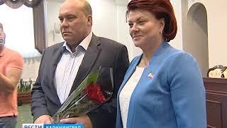Первая после летней паузы сессия Облдумы стала дебютной для Андрея Колесника
