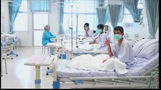 Таиланд: бывшие пленники пещеры чувствуют себя хорошо