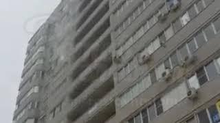 Прорвало трубу на Извилистой 1.3.2018 Ростов-на-Дону Главный