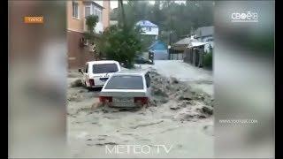 Ставропольских детей вывезли из затопленного Туапсе