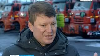 Глава Красноярска оценил первый экзамен снегопадами для дорожной службы города
