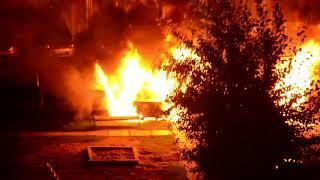5 автомобилей сгорели в Обнинске