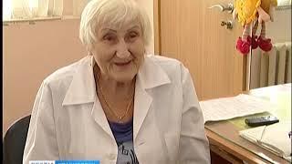 В красноярской поликлинике трудится 82-летняя массажистка