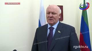 Руководитель ТФОМС Магомед Сулейманов провел прием граждан