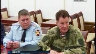Глава Мордовии Владимир Волков провел встречу с командующим Приволжским округом Росгвардии Александр