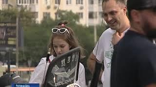 Ростовчанки приняли участие в мотопробеге «Моя мама - на мотоцикле»