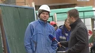 Пожар на Комсомольской