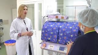 Новое оборудование поступило в распоряжение врачей перинатального центра в Омске