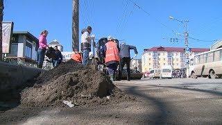 Мэр Саранска помог прибраться в городе