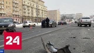 ДТП на Ленинградском шоссе: пострадавшего подростка эвакуировали вертолетом - Россия 24