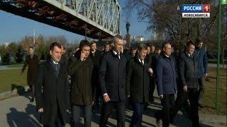 Андрей Травников анонсировал появление новой набережной на левом берегу Оби в Новосибирске