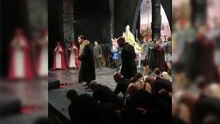 Во время исполнения оперы Ильдару Абдразакову «подпевала» лошадь