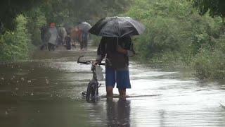 Ливни и наводнения в Центральной Америки