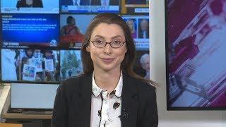 Выпуск новостей в 19:00 EST с Лизой Каймин