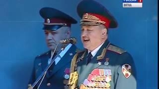 Войсковая часть Росгвардии отметила вековой юбилей (ГТРК Вятка)
