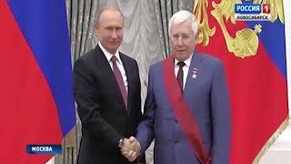 Владимир Путин вручил государственную награду Юрию Бугакову
