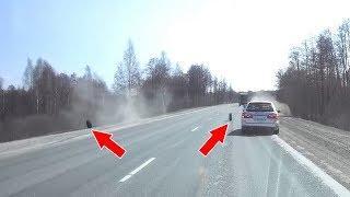 ДТП: колеса выпали из грузовика на пути легковушки.