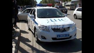 Водитель без прав пытался скрыться от полицейских и попал в ДТП в Хабаровске. Mestoprotv