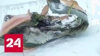 В Подмосковье упал Ан-148: первые кадры - Россия 24