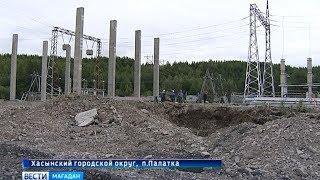 Масштабная реконструкция энергооборудования в районе Палатки