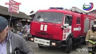 Центральный рынок Кизляра могут закрыть из-за несоблюдения требований пожарной безопасности