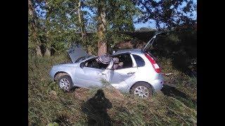 В Башкирии ВАЗ вылетел в кювет и врезался в дерево: водитель погиб