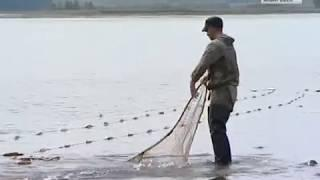 Лов красной рыбы