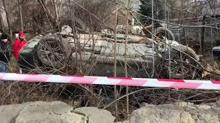 В Кисловодске Lexus протаранил забор: водитель погиб