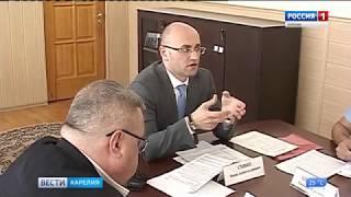 Совещание у главного федерального инспектора по Карелии