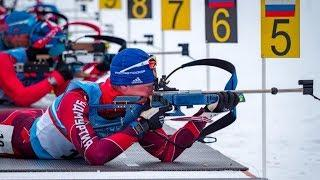 Чемпионат России по биатлону. Эстафета мужчины 4х7,5 км