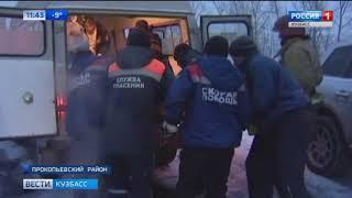 Появилось видео с места жёсткого ДТП на кузбасской трассе, где внедорожник врезался в грузовик