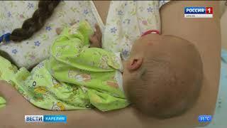 3000 детей появилось на свет за первое полугодие в Карелии