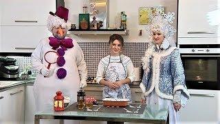 Снегурочка и Снеговик представили свой рецепт завтрака для югорчан