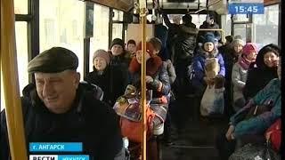 Маршрутное телевидение появилось в 150 автобусах Ангарска