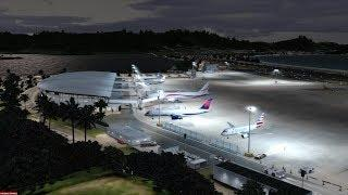 Perpar3D - St Maarten - Montreal PMDG 777-200L/R