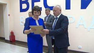 Виталий Лихачев поздравил коллектив ГТРК «Волгоград-ТРВ» с предстоящим юбилеем