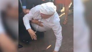 Жириновский ты говно ИЗБИЛИ Жириновского на митинге 9 сентября против пенсионной реформы Выборы 2018