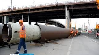 В Красноярске СГК проводит уникальные работы по строительству крупной теплосети