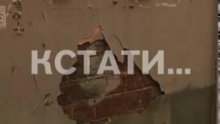Нижний Новгород теряет лицо - фасады исторических зданий обрастают деревьями и колючей проволокой