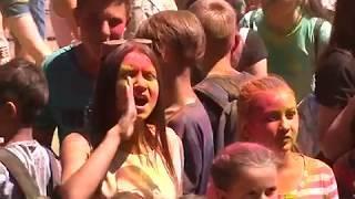 Фестиваль красок холи расцветил выходные в Биробиджане(РИА Биробиджане)