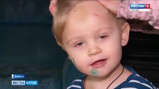 Многодетная мама из Бийска рассказала, как на ребёнка рухнули фрагменты потолка