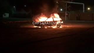 в Увеке сгорела машина
