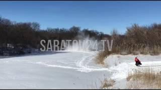 На Медведице взорвали лёд